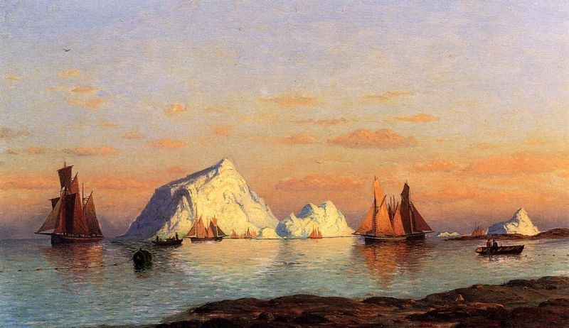 William Bradford Fishermen off the Coast of Labrador