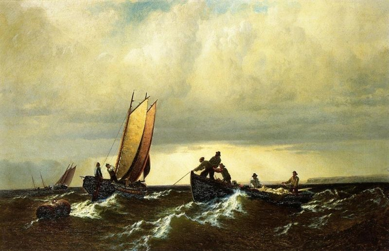 William Bradford Fishing Boats on the Bay of Fundy i