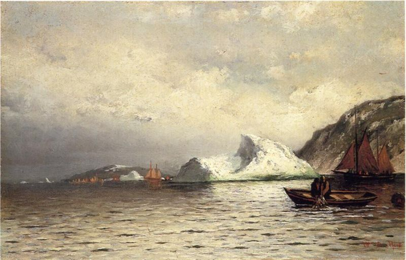 William Bradford Pulling in the Nets
