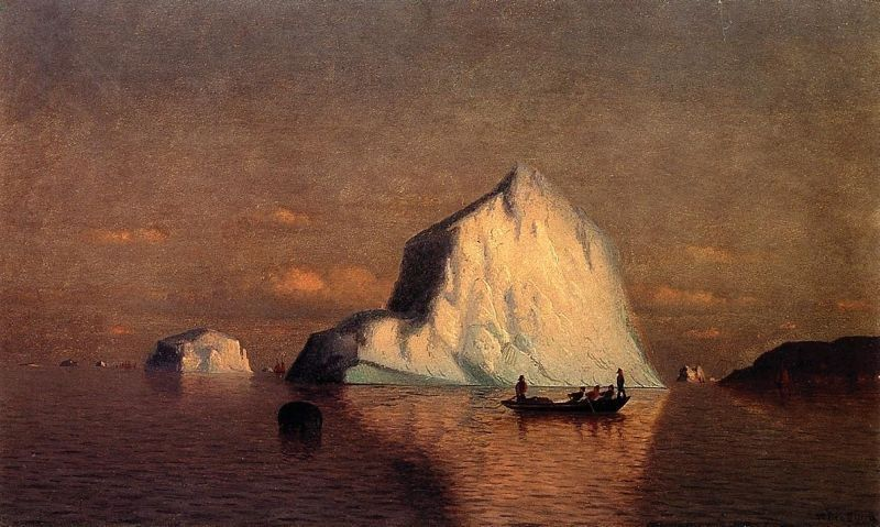 William Bradford Straits of Belle Isle