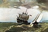 William Bradford After the Storm painting
