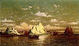 William Bradford Arctic Harbor painting