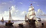 William Bradford Boston Harbor painting