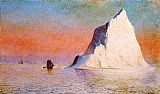 William Bradford Icebergs painting