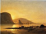 William Bradford Sunrise Cove painting