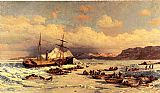 William Bradford Voyage painting