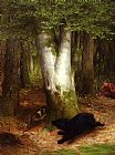 Hunting paintings - Round and Round they Went by William Holbrook Beard