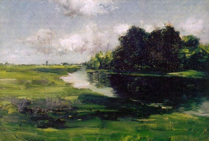 William Merritt Chase Long Island Landscape after a Shower of Rain