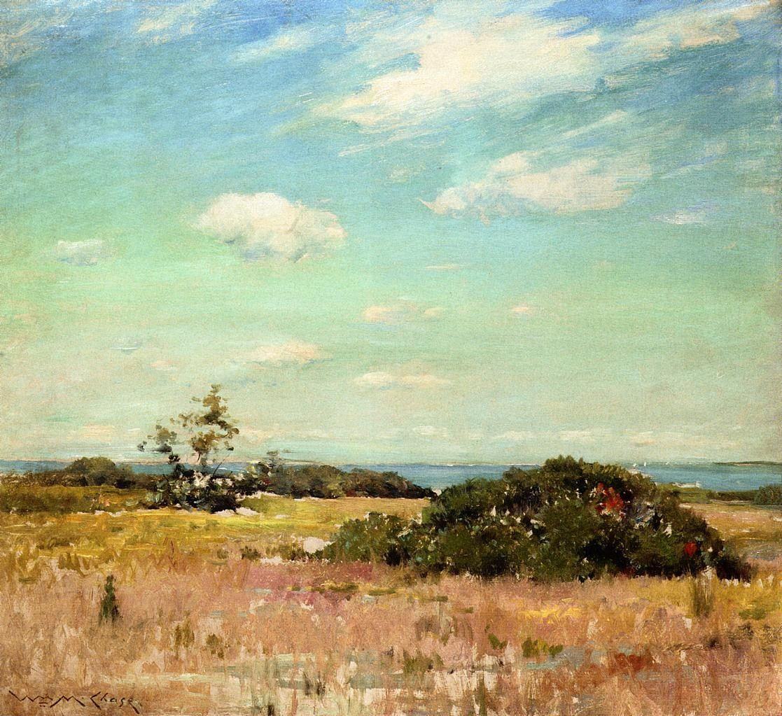 William Merritt Chase Shinnecock Hills, Long Island