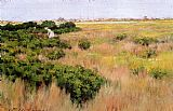 William Merritt Chase Landscape Near Coney Island painting