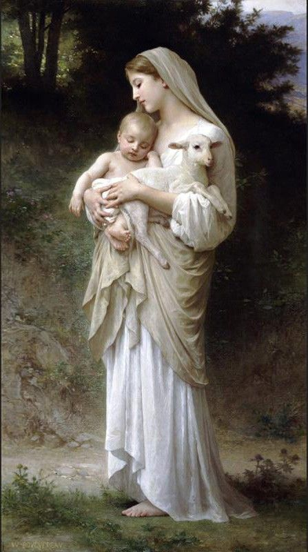 William Bouguereau Innocence