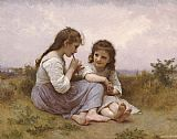 William Bouguereau A Childhood Idyll painting