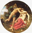 William Bouguereau Flora and Zephyr painting