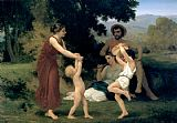 William Bouguereau Pastoral painting