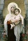 William Bouguereau The Madonna of the Roses painting
