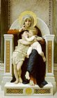 William Bouguereau the Baby Jesus and Saint John the Baptist painting