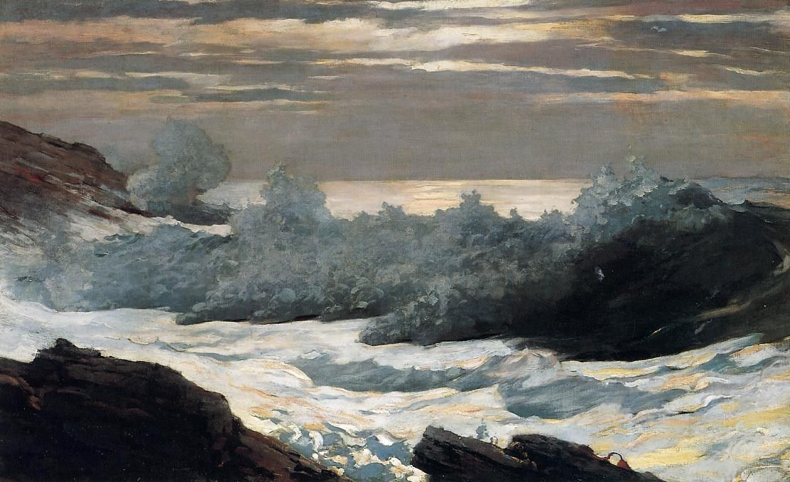 Winslow Homer Early Morning After a Storm at Sea