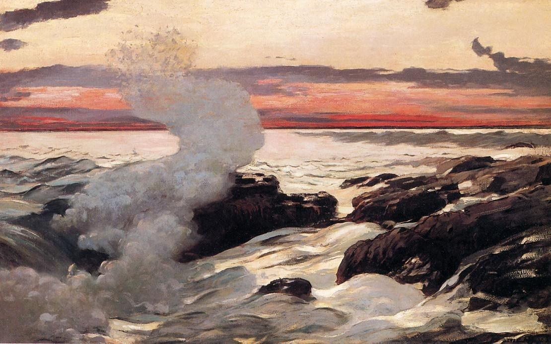 Winslow Homer West Point Prout's Neck