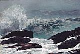 Winslow Homer Maine Coast painting