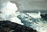 Winslow Homer Northeaster painting