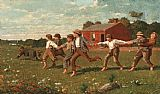 Winslow Homer Snap the Whip painting