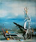Yves Tanguy Indefinite Divisibility painting