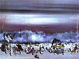 Yves Tanguy The Ribbon of Extremes painting