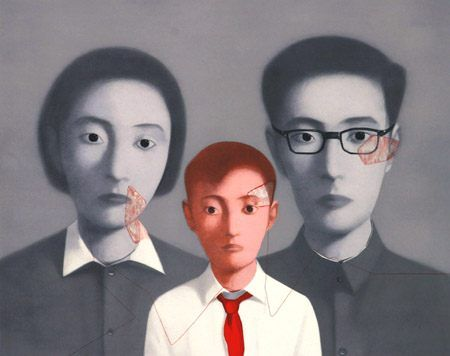 Zhang Xiaogang Big Family