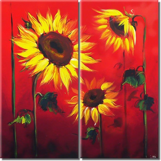 flower Paintings - flo...