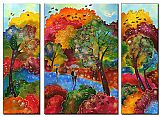 landscape Autumn Wind painting