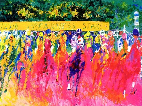Leroy Neiman 125th Preakness Stakes