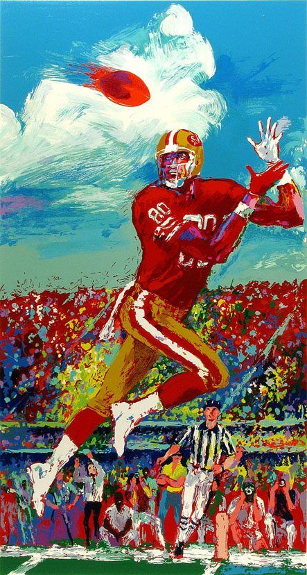 Leroy Neiman Jerry Rice