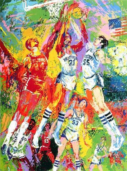 Leroy Neiman Kentucky Wildcats