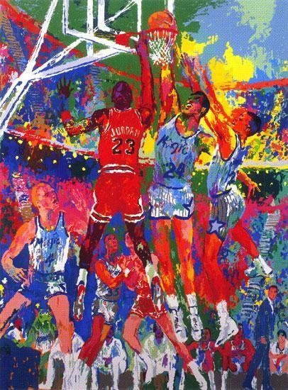 Leroy Neiman Orlando Magic