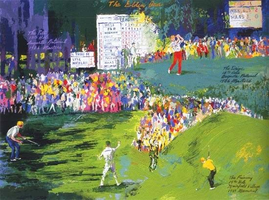 Leroy Neiman The Golden Bear