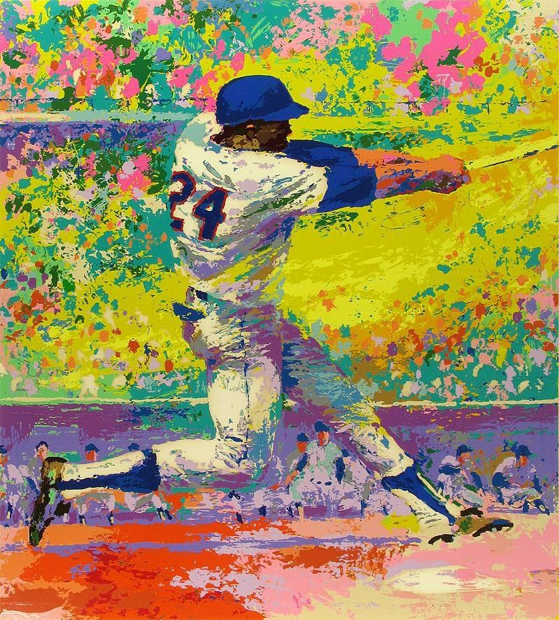 Leroy Neiman Willie Mays