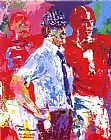 dancing bears Paintings - Bear Bryant