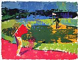Leroy Neiman Chipping On painting