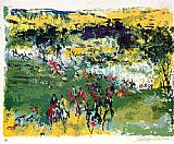 Leroy Neiman Fox Hunt painting