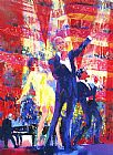 frank sinatra Paintings - Frank Liza and Sammy at Royal Albert Hall