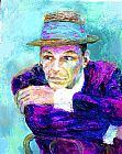 Leroy Neiman Frank Sinatra The Voice painting