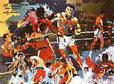 Boxing paintings - Homage to Ali by Leroy Neiman