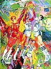 Leroy Neiman Kentucky Wildcats painting