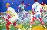 Leroy Neiman Men's Doubles painting