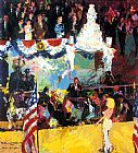 Leroy Neiman President's Birthday Party painting