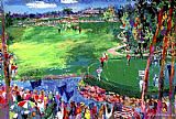 Golf paintings - Ryder Cup Valhalla 2008 by Leroy Neiman