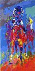 Horse Racing paintings - Secretariat II by Leroy Neiman