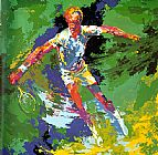 Leroy Neiman Stan Smith painting
