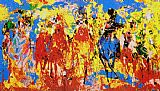 Leroy Neiman Stretch Stampede painting