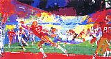 Leroy Neiman Super Play painting